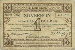 1 Gulden PAYS-BAS  1918 P.013 TB+