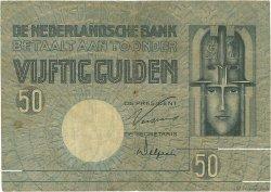 50 Gulden PAYS-BAS  1929 P.047 TB
