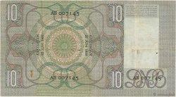 10 Gulden PAYS-BAS  1933 P.049 TTB