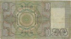 10 Gulden PAYS-BAS  1934 P.049 TB