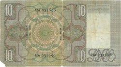 10 Gulden PAYS-BAS  1936 P.049 B