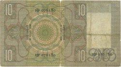 10 Gulden PAYS-BAS  1936 P.049 B+