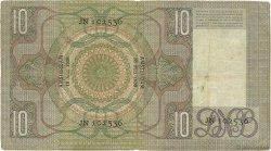 10 Gulden PAYS-BAS  1936 P.049 TB+