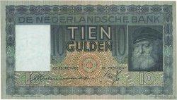 10 Gulden PAYS-BAS  1938 P.049 TTB