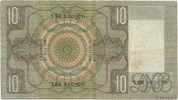 10 Gulden PAYS-BAS  1939 P.049 TTB