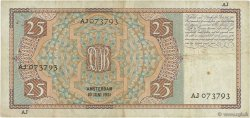 25 Gulden PAYS-BAS  1931 P.050 TTB