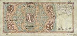 25 Gulden PAYS-BAS  1935 P.050 TTB