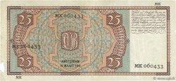 25 Gulden PAYS-BAS  1941 P.050 TB+
