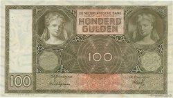 100 Gulden PAYS-BAS  1932 P.051a TTB+