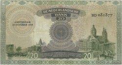 20 Gulden PAYS-BAS  1939 P.054 TTB