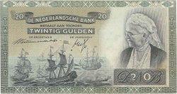 20 Gulden PAYS-BAS  1941 P.054 TTB+