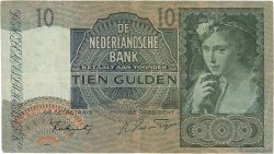 10 Gulden PAYS-BAS  1941 P.056b TTB