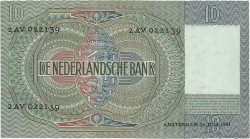 10 Gulden PAYS-BAS  1941 P.056b SPL