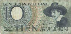 10 Gulden PAYS-BAS  1943 P.059 TTB