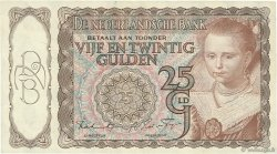 25 Gulden PAYS-BAS  1943 P.060 TTB+