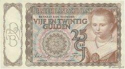 25 Gulden PAYS-BAS  1943 P.060 SUP