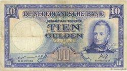 10 Gulden PAYS-BAS  1945 P.075a TB