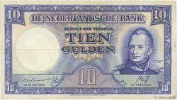 10 Gulden PAYS-BAS  1945 P.075b TB+