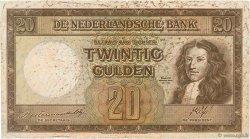 20 Gulden PAYS-BAS  1945 P.076 TB