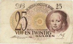 25 Gulden PAYS-BAS  1945 P.077 B