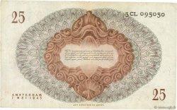 25 Gulden PAYS-BAS  1945 P.077 TTB+