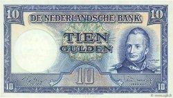 10 Gulden PAYS-BAS  1949 P.083 TTB+