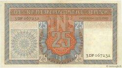 25 Gulden PAYS-BAS  1949 P.084 TTB+