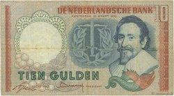 10 Gulden PAYS-BAS  1953 P.085 TB