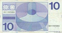 10 Gulden PAYS-BAS  1968 P.091b TB