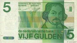 5 Gulden PAYS-BAS  1973 P.095a TB