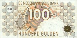 100 Gulden NETHERLANDS  1992 P.101 VF