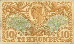 10 Kroner DANEMARK  1927 P.021x pr.TTB