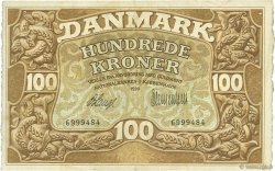 100 Kroner DANEMARK  1920 P.023e pr.TTB