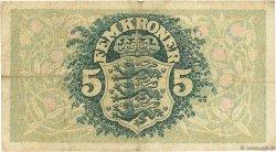 5 Kroner DANEMARK  1935 P.025g TB