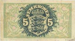 5 Kroner DANEMARK  1942 P.030g TB
