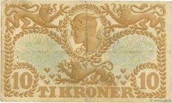 10 Kroner DANEMARK  1939 P.031g TB