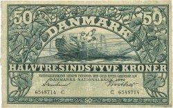 50 Kroner DANEMARK  1942 P.032d TTB+
