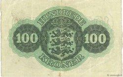 100 Kroner DANEMARK  1958 P.039r TTB+