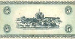 5 Kroner DANEMARK  1952 P.042a TTB