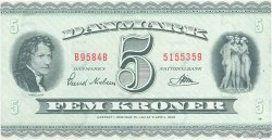5 Kroner DANEMARK  1958 P.042n pr.NEUF