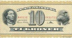10 Kroner DANEMARK  1951 P.043b SUP