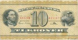 10 Kroner DANEMARK  1952 P.043c pr.TB
