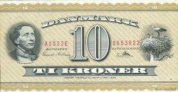 10 Kroner DANEMARK  1952 P.043c SPL
