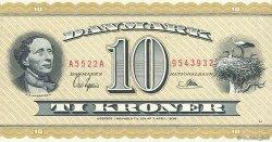 10 Kroner DANEMARK  1952 P.043c pr.NEUF