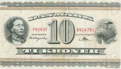 10 Kroner DANEMARK  1959 P.044p TTB