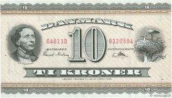 10 Kroner DANEMARK  1961 P.044q