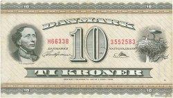 10 Kroner DANEMARK  1963 P.044s TTB