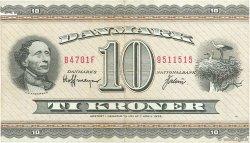 10 Kroner DANEMARK  1970 P.044aa TTB