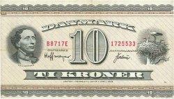 10 Kroner DANEMARK  1971 P.044aa TTB