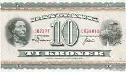 10 Kroner DANEMARK  1972 P.044ac SPL